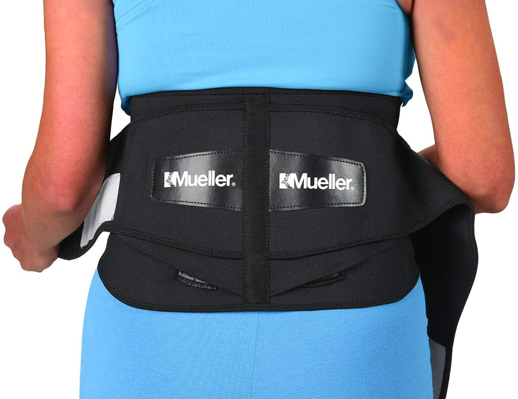Mueller 255 Lumbar Support Back Brace with Removable Pad Review