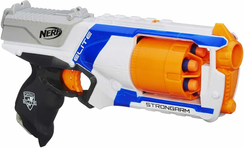 NERF N-Strike Elite Strong-arm Blaster best NERF guns
