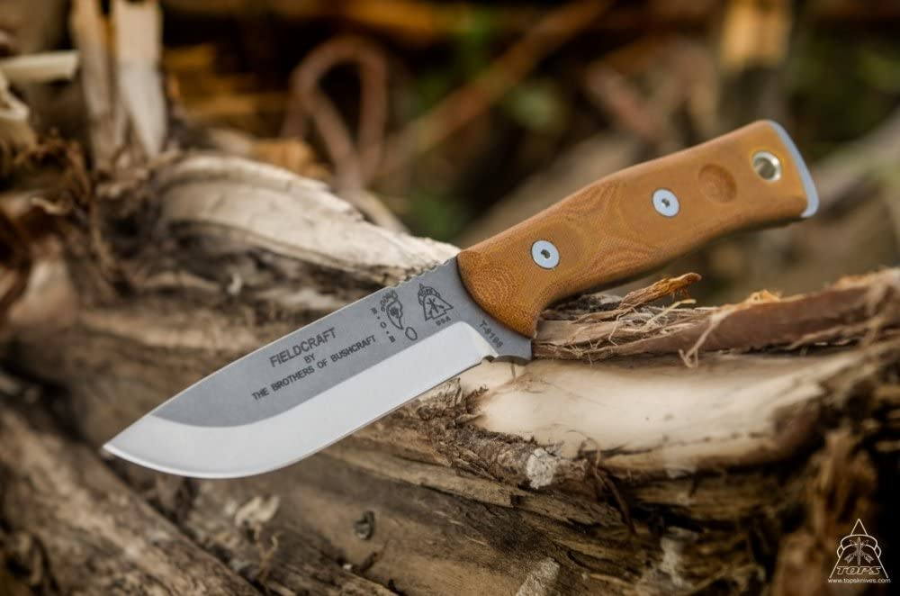 Fieldcraft by Brothers of Bushcraft Knife - TOPS Knives Tactical ...